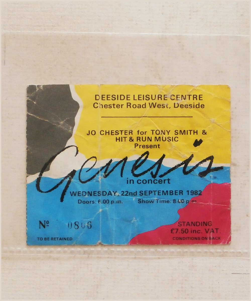 Genesis - Wednesday 22 September 1982, Deeside Leisure Centre (P6050290)