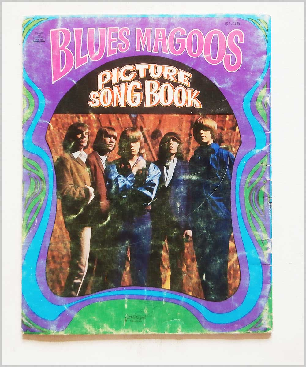 Blue Magoos - Picture Song Book (Sheet Music and Pictures) (P6050328)