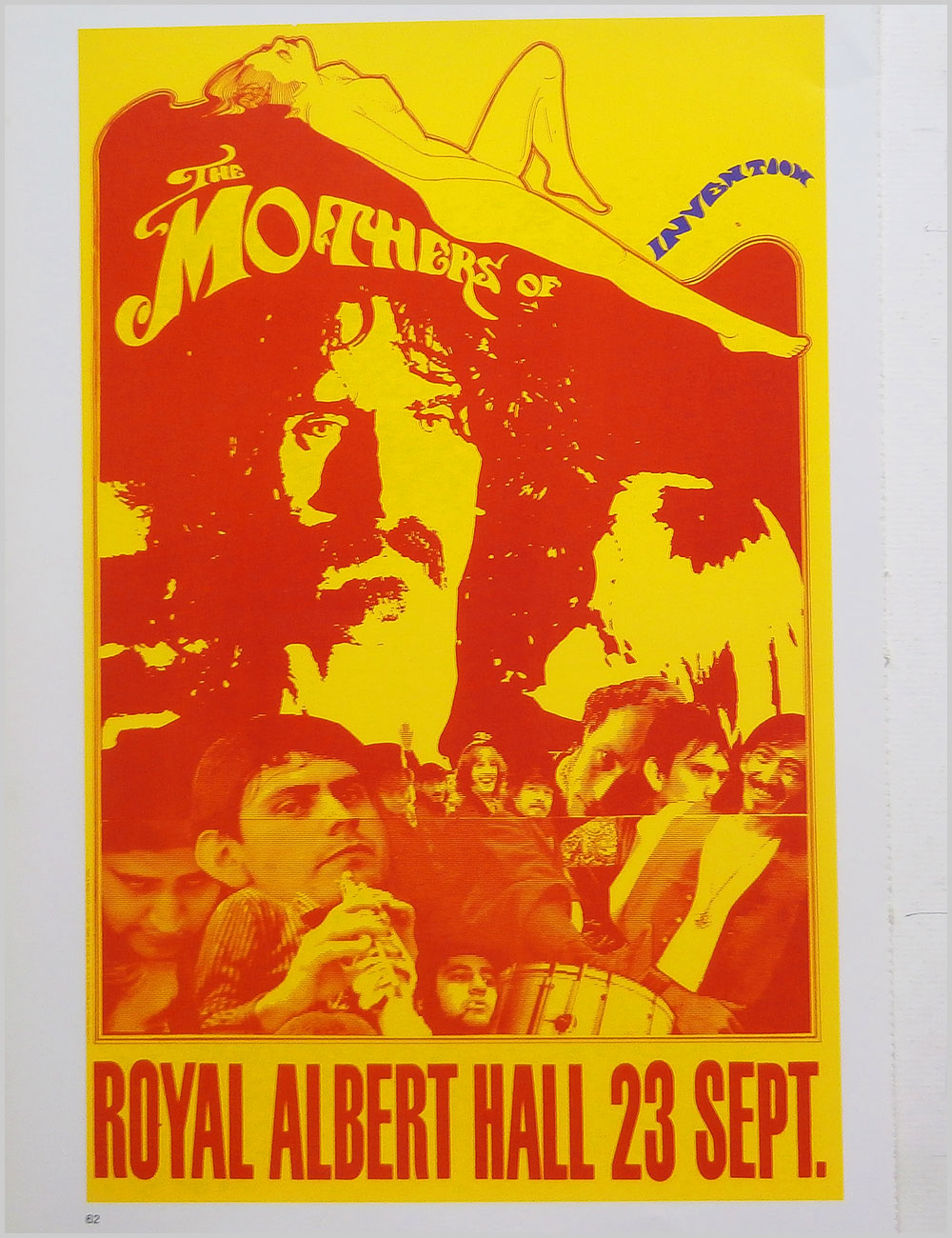 The Mothers of Invention and All Good Clean Fun - Rock Poster: The Mothers of Invention b/w All Good Clean Fun (PB100297)