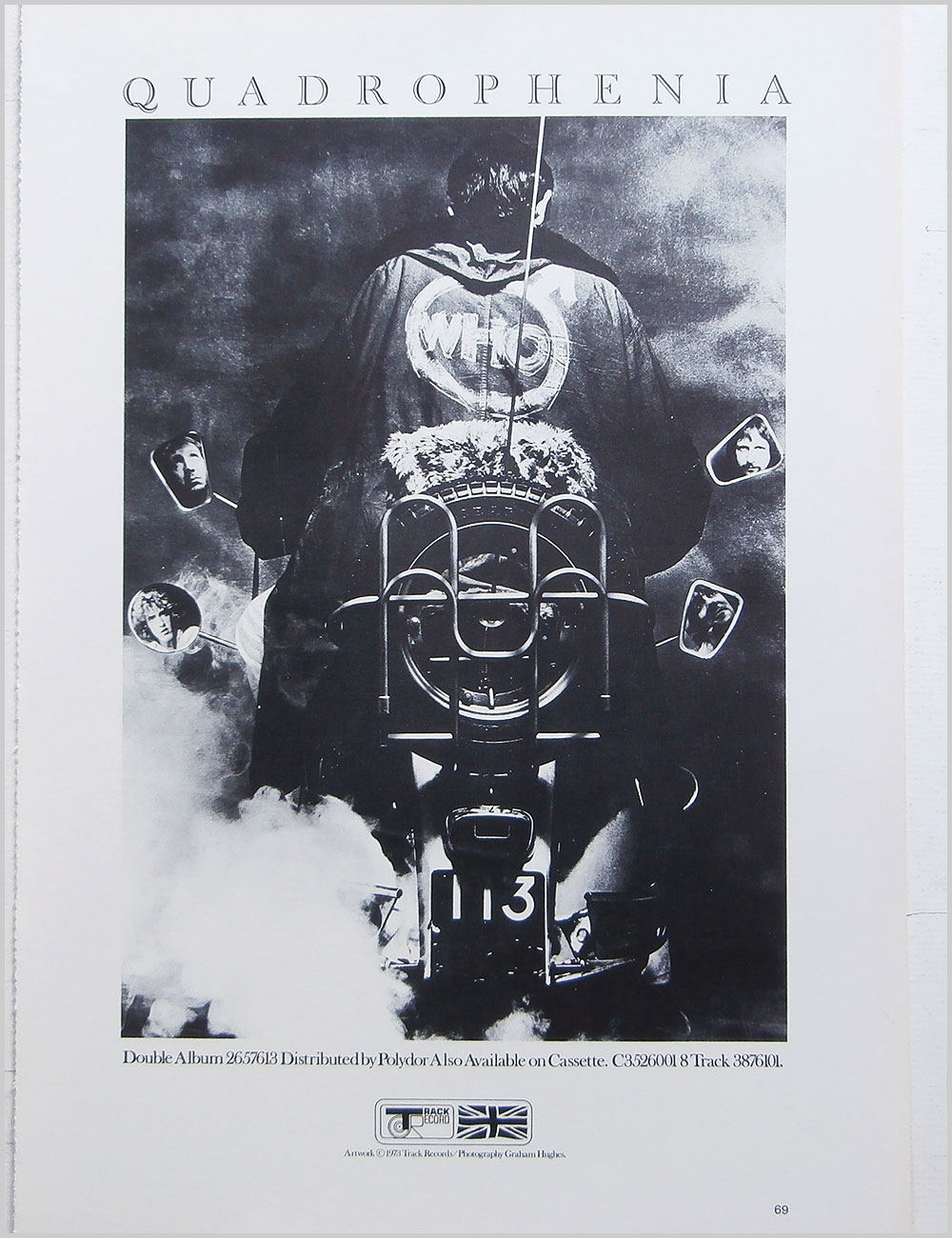 Bob Dylan and The Who - Rock Poster: Bob Dylan b/w The Who: Quadrophenia (PB100304)