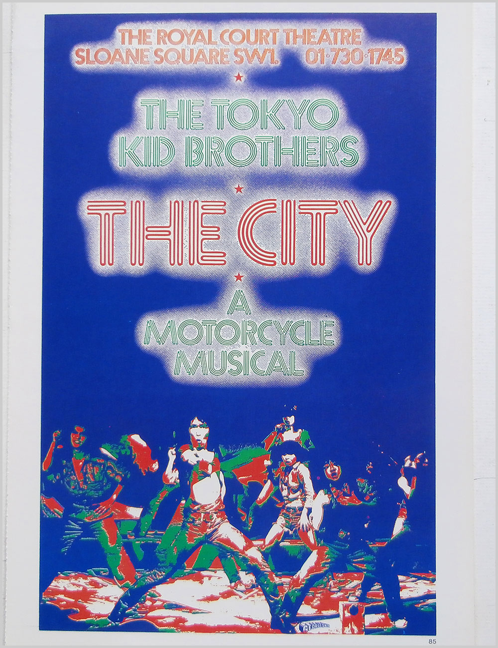 Doobie Brothers and The Tokyo Kid Brothers - Rock Poster: Doobie Brothers: What Were Once Vices Are Now Habits b/w The Tokyo Kid Brothers: The City (PB100320)