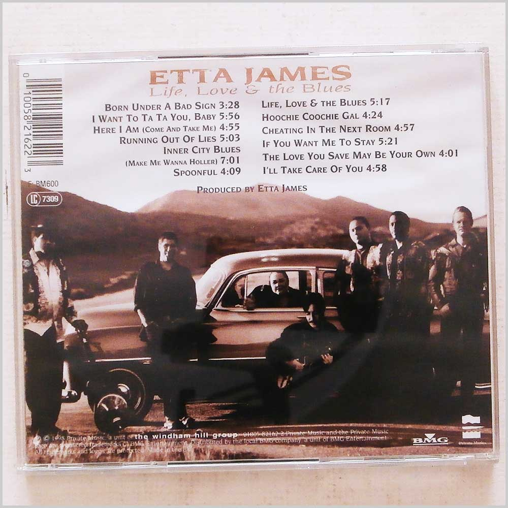 Etta James - Life, Love and The Blues (10058216223)