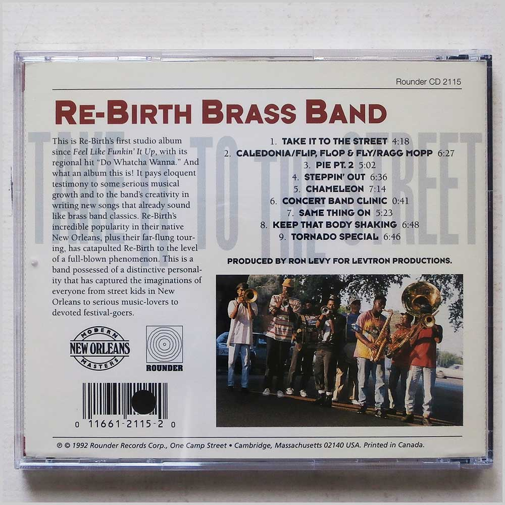 Rebirth Brass Band - Take It To The Street (11661211520)
