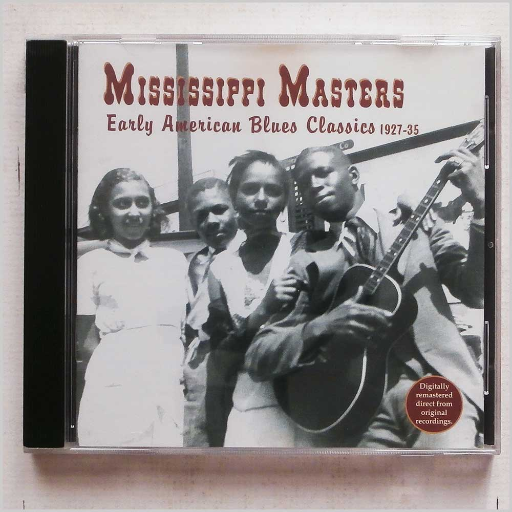Various - Mississippi Masters: Early American Blues Classics 1927-1935 (16351200723)