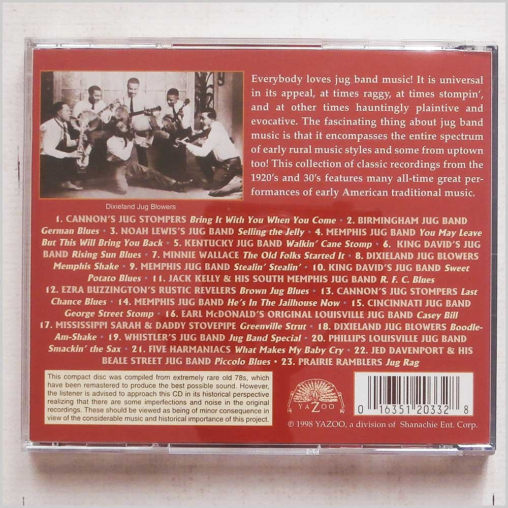 Various - Ruckus Juice and Chittlins: The Great Jug Bands Vol. 2 (16351203328)