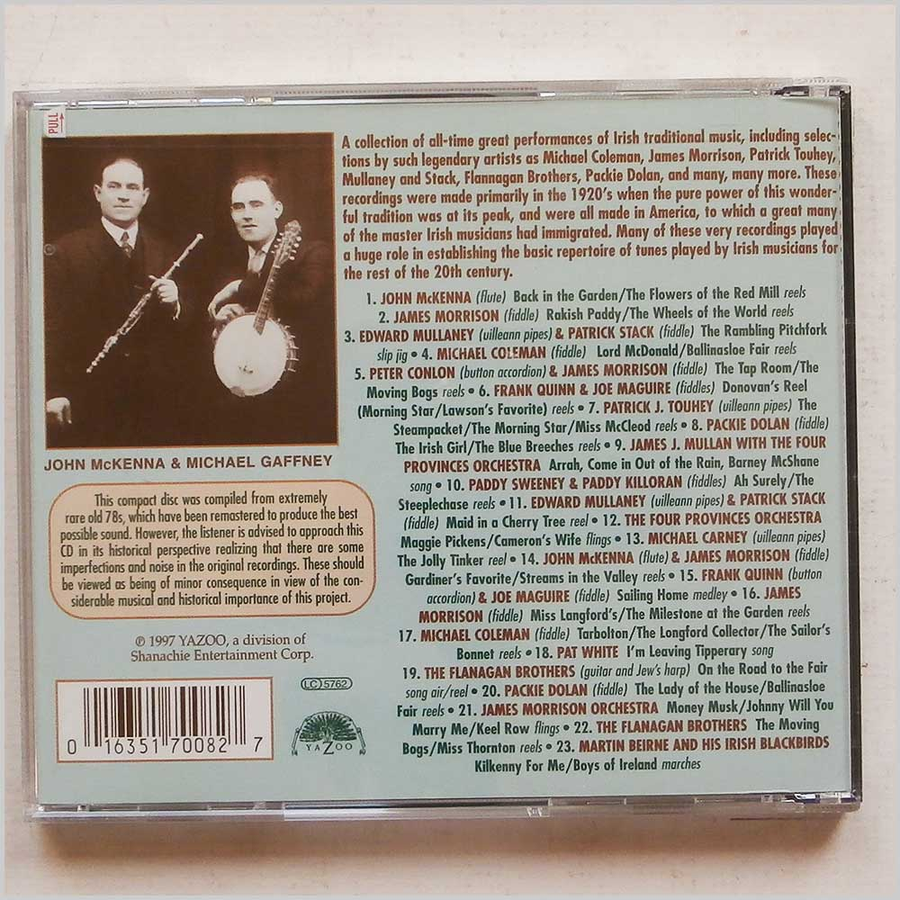 Various - The Wheels Of The World Volume 1: Early Irish-American Music (16351700827)