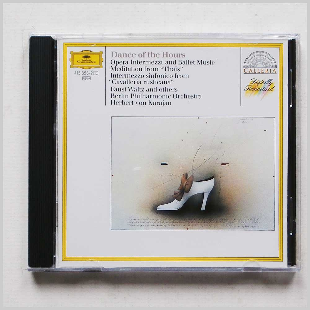 Herbert Von Karajan, Berlin Philharmonic Orchestra - Dance of the Hours: Opera Intermezzi and Ballet Music (28941585622)