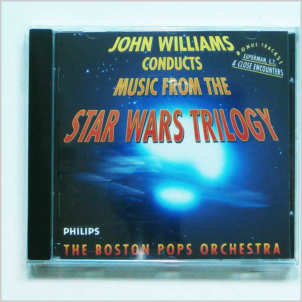 John Williams and Boston Pops Orchestra - Music from the Star Wars Trilogy (28943205023)