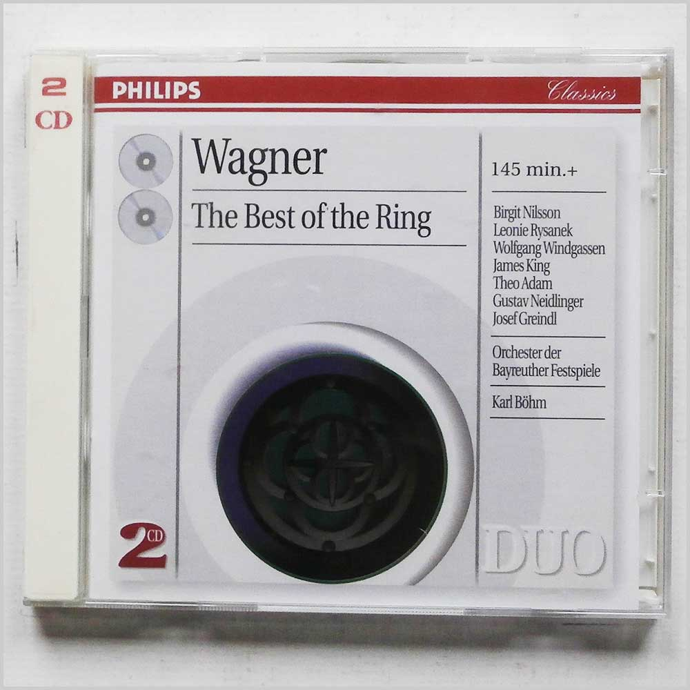 Orchester der Bayreuther Festspiele, Karl Bohm - Wagner: The Best of the Ring (28945402024)