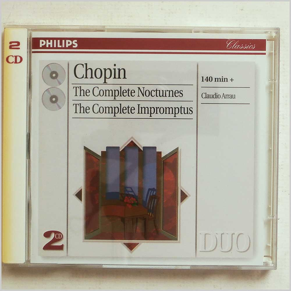 Claudio Arrau - Chopin: The Complete Nocturnes, The Complete Impromptus (28945633626)