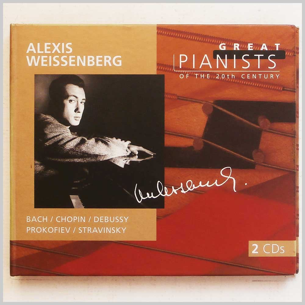Alexis Weissenberg - Great Pianists of the 20th Century (28945698823)