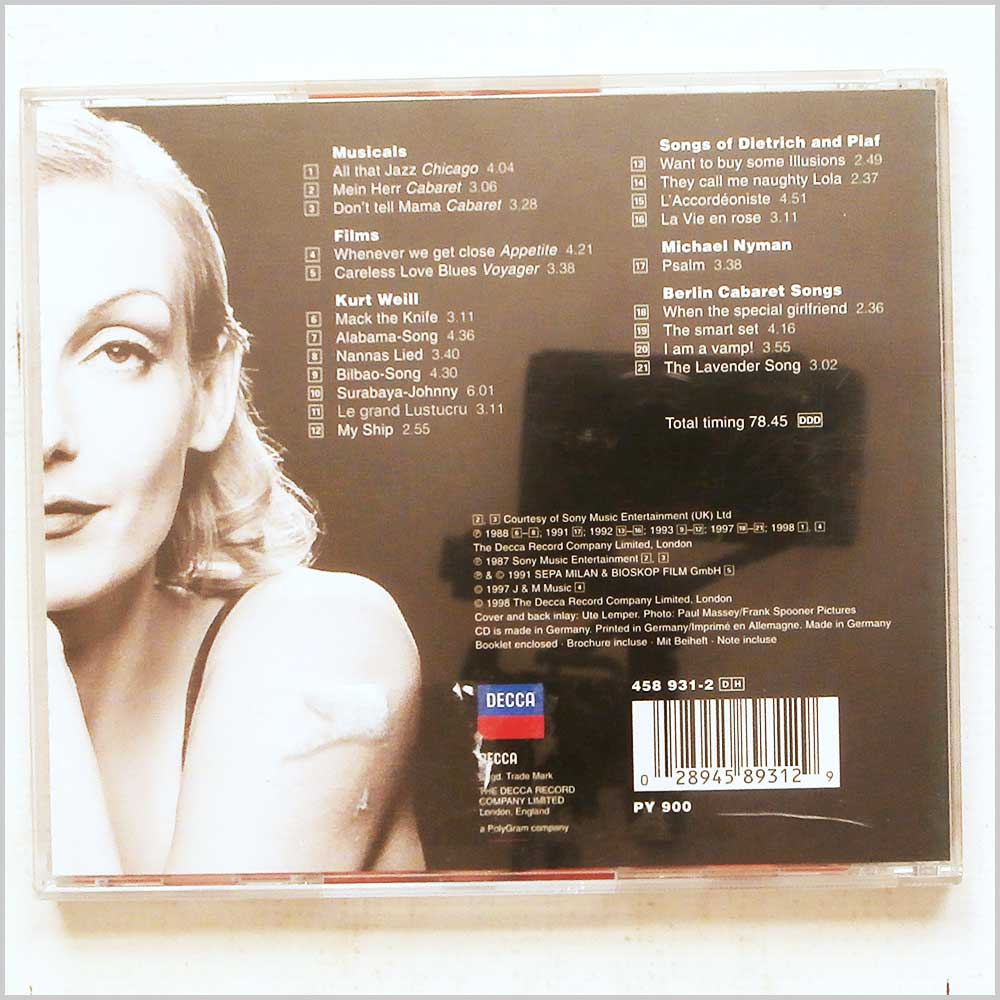 Ute Lemper - The Best of Ute Lemper (28945893129)