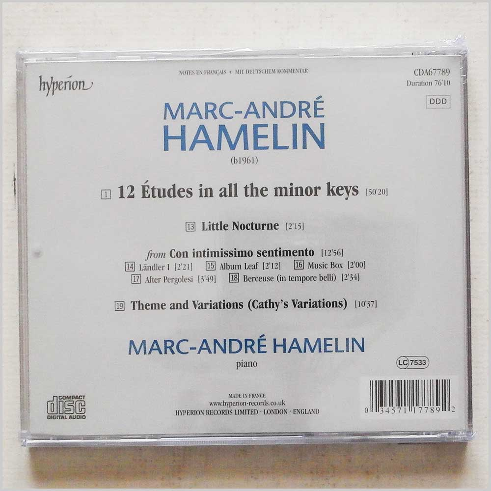 Marc-Andre Hamelin - Marc-Andre Hamelin: 12 Etudes in all the Minor Keys (34571177892)