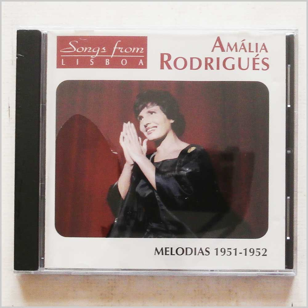 AMALIA RODRIGUES - Songs From Lisboa: Melodias 1951-1952 - CD