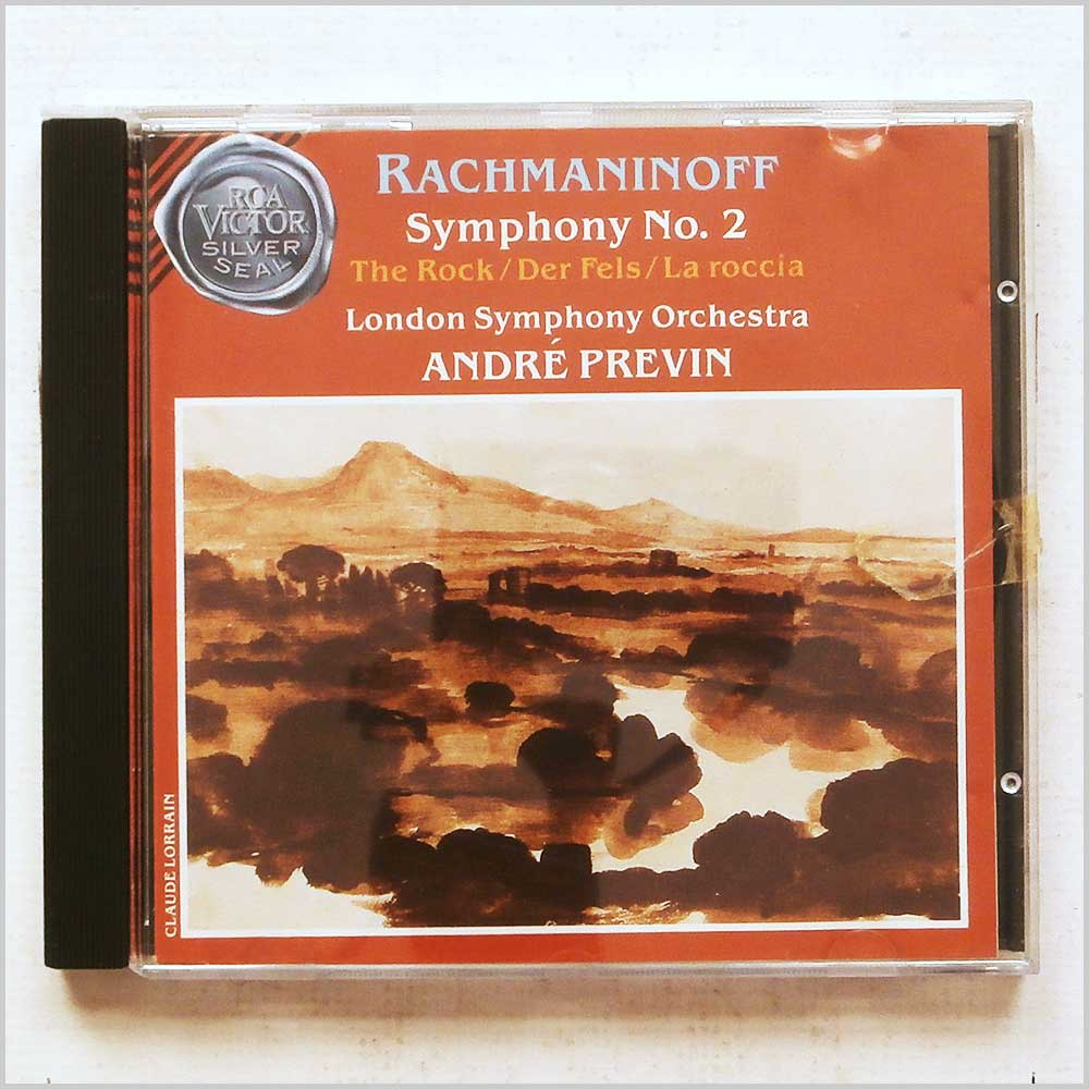 Andre Previn, London Symphony Orchestra - Rachmaninoff: Symphony No. 2 (35626079123)
