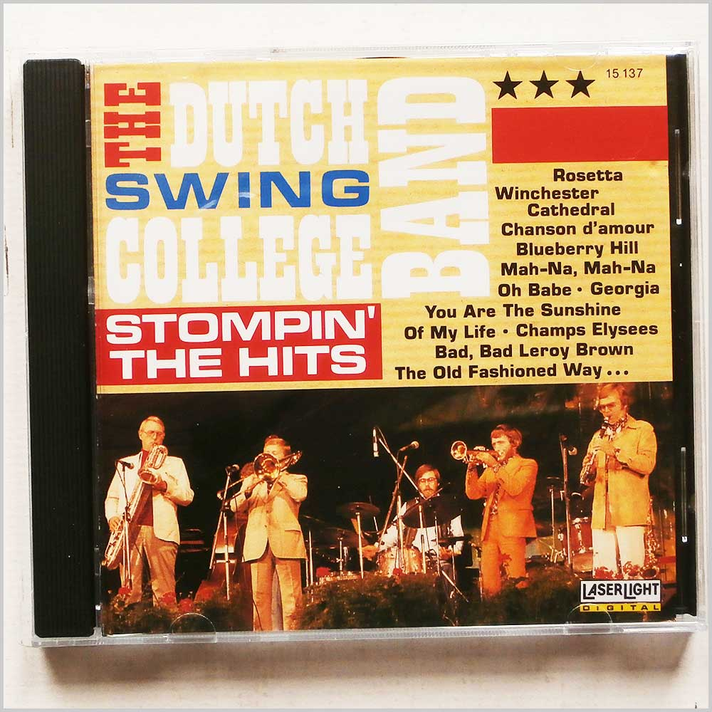 Dutch Swing College Band - Stompin the Hits (4006408151371)