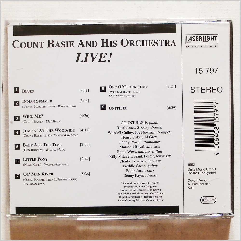 Count Basie and his Orchestra - One O'Clock Jump (4006408157977)
