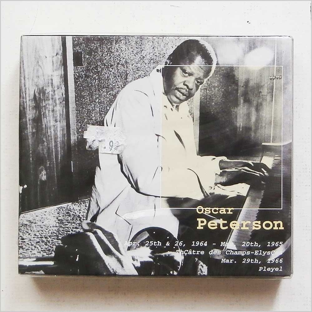 OSCAR PETERSON - Theatre Des Champs-Elysees Apr 25 and 26th 1964, Mar 20th 1965 and Salle Pleyel Mar 29th 1966 Box Se - CD