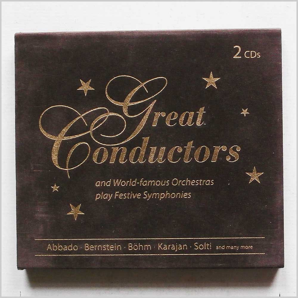 Various - Great Conductors and World Famous Orchestras Play Festive Symphonies (4043002424746)