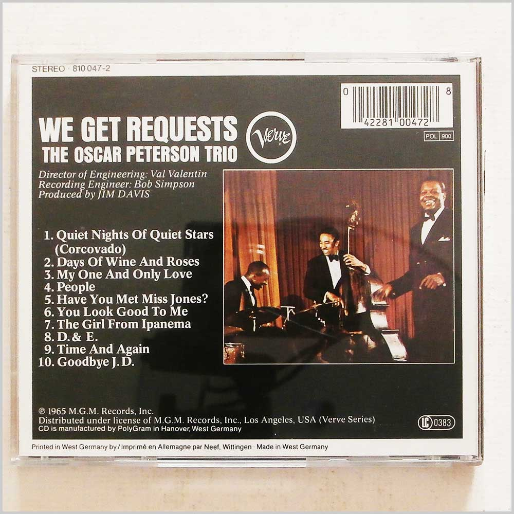 The Oscar Peterson Trio - We Get Requests (42281004728)
