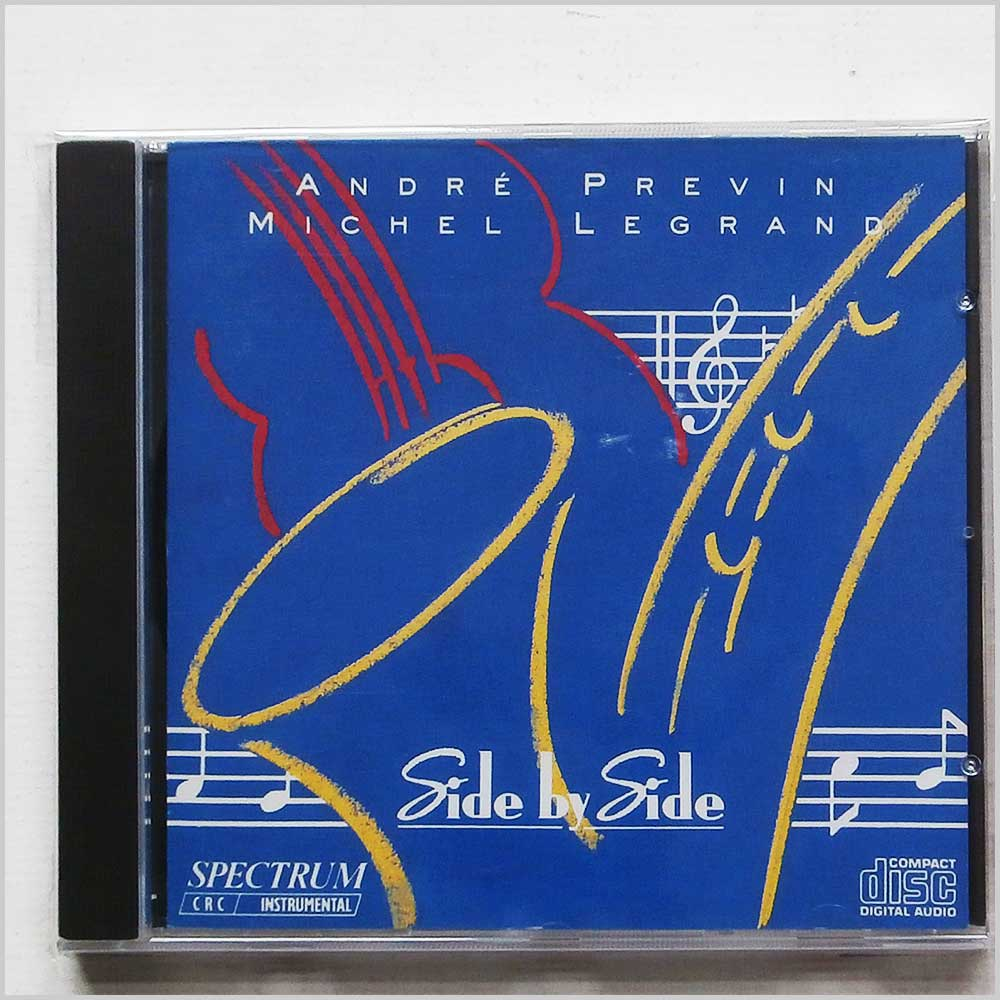 Andre Previn and Michel Legrand - Side By Side (5012106230033)
