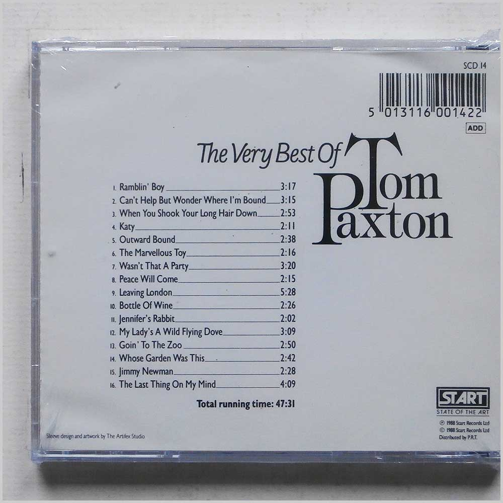 Tom Paxton - The Very Best of Tom Paxton (5013116001422)