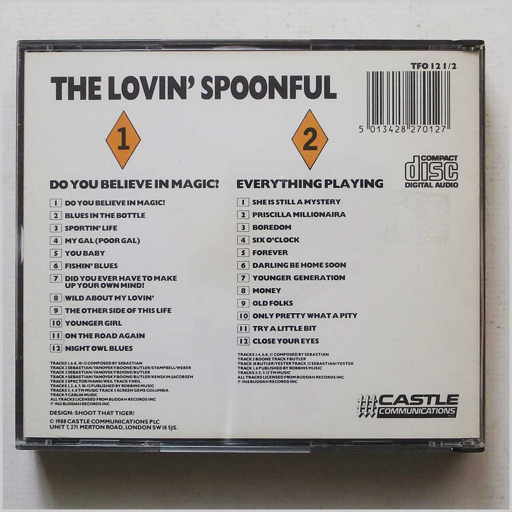 The Lovin' Spoonful - Do You Believe in Magic?, Everything Playing (5013428270127)