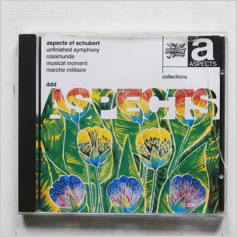 Various - Aspects of Schubert: Unfinished Symphony, Rosamunde, Musical Moment, Marche Militaire (5014505008794)