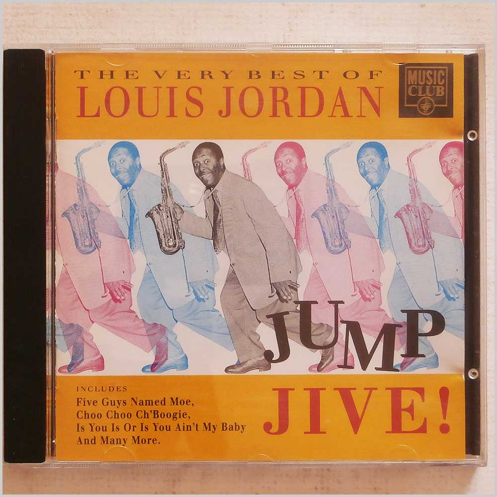 Louis Jordan  - The Very Best of Louis Jordan: Jump Jive (5014797290853)