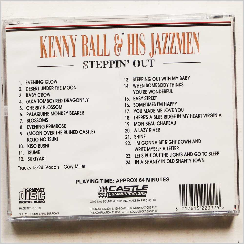 Ball Kenny and His Jazzmen - Steppin Out (5017615220926)