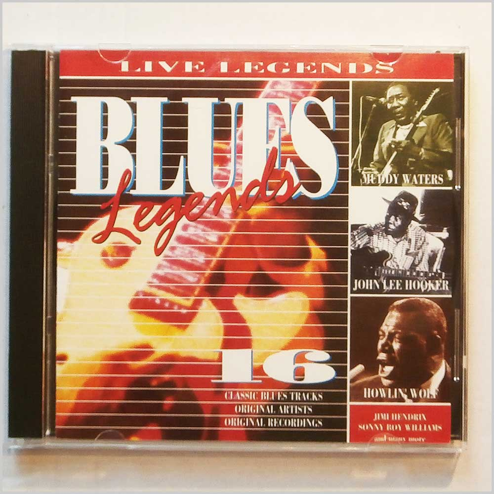 Various - Live Legends: Blues Legends (5017615241624)
