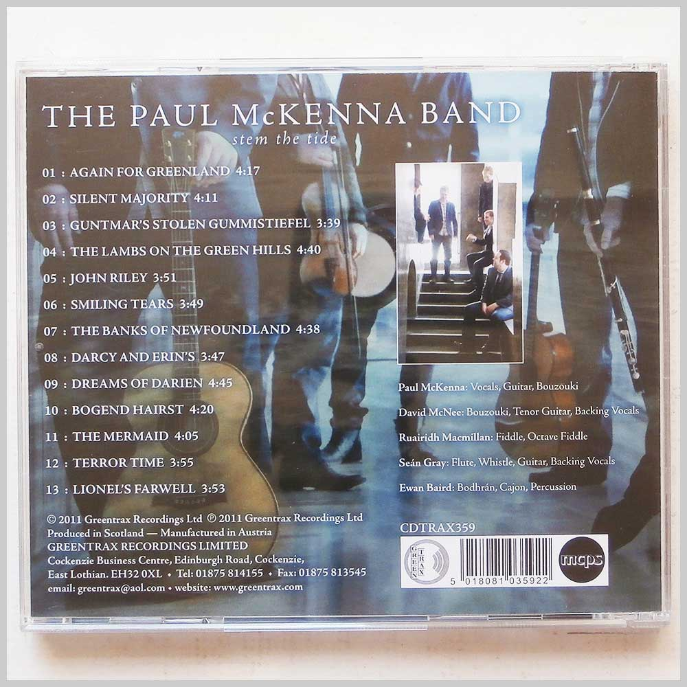 The Paul McKenna Band - Stem The Tide (5018081035922)