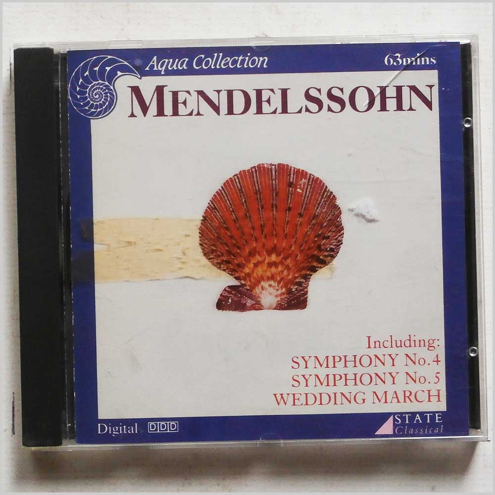 Various - Mendelssohn: Symphonies No.4 and 5, Wedding March (5018463002320)