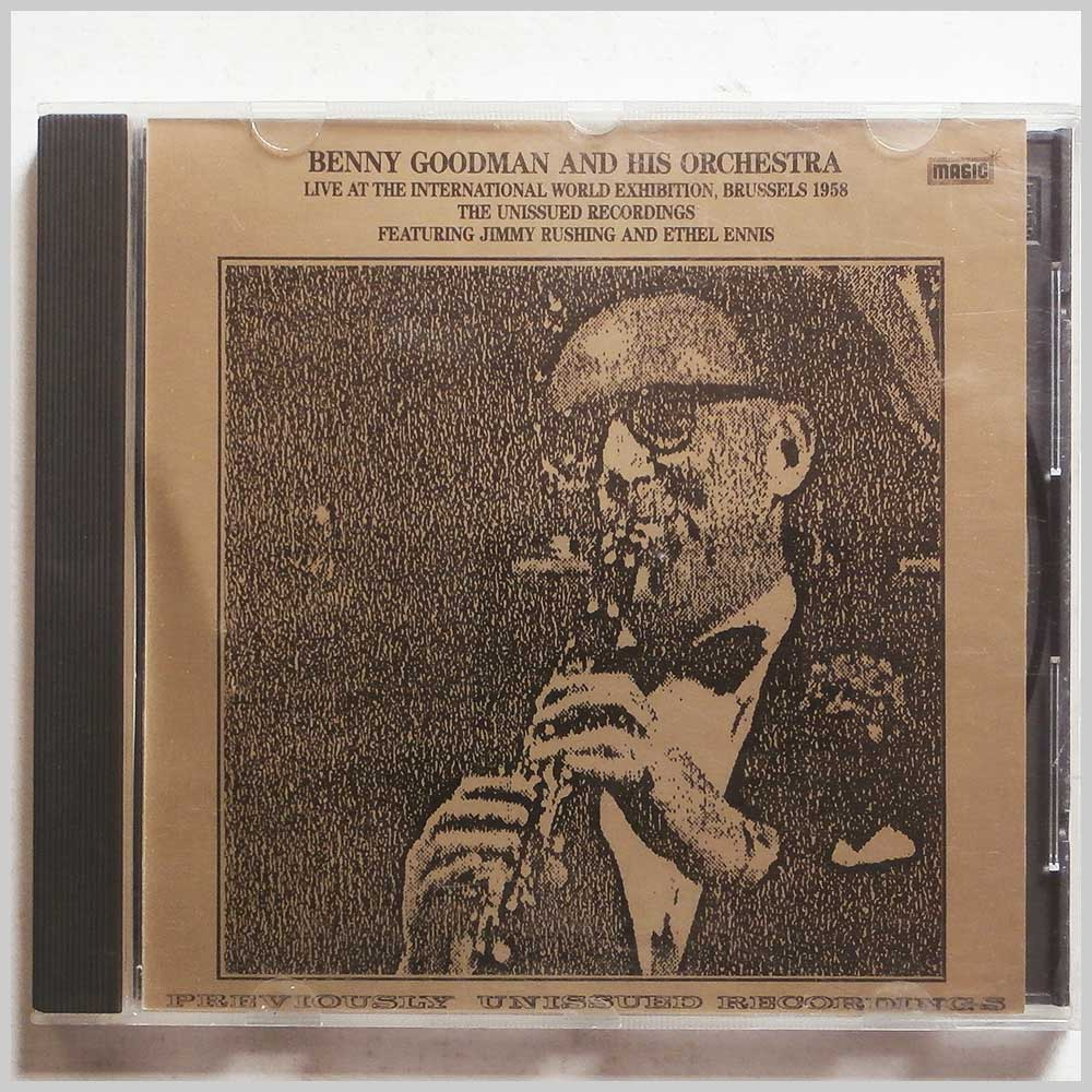 Benny Goodman and his Orchestra - Live at the International World Exhibition, Brussels 1958 (5019317000097)