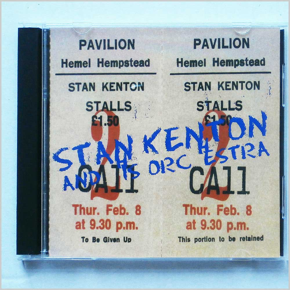 Stan Kenton - Stan Kenton At The Pavilion Hemel Hempstead (5019317001889)