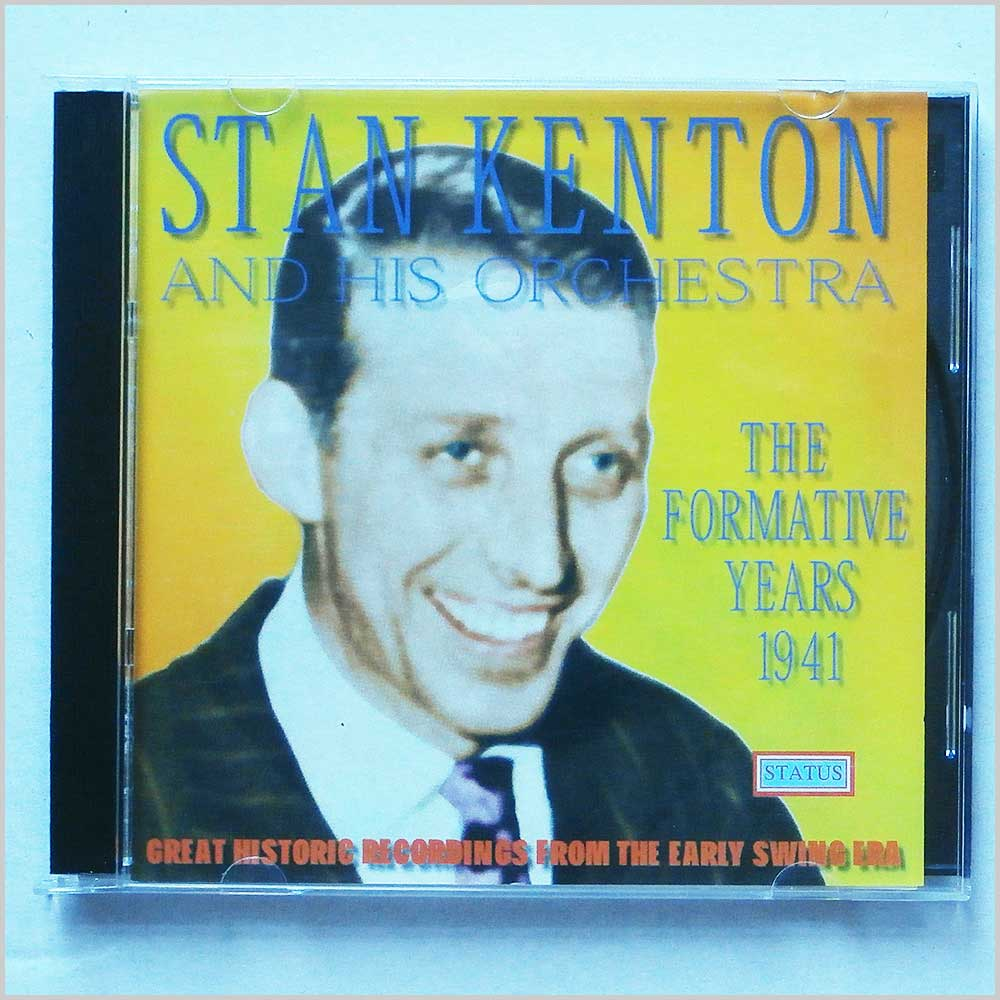 Stan Kenton And His Orchestra - The Formative Years 1941 (5019317102425)