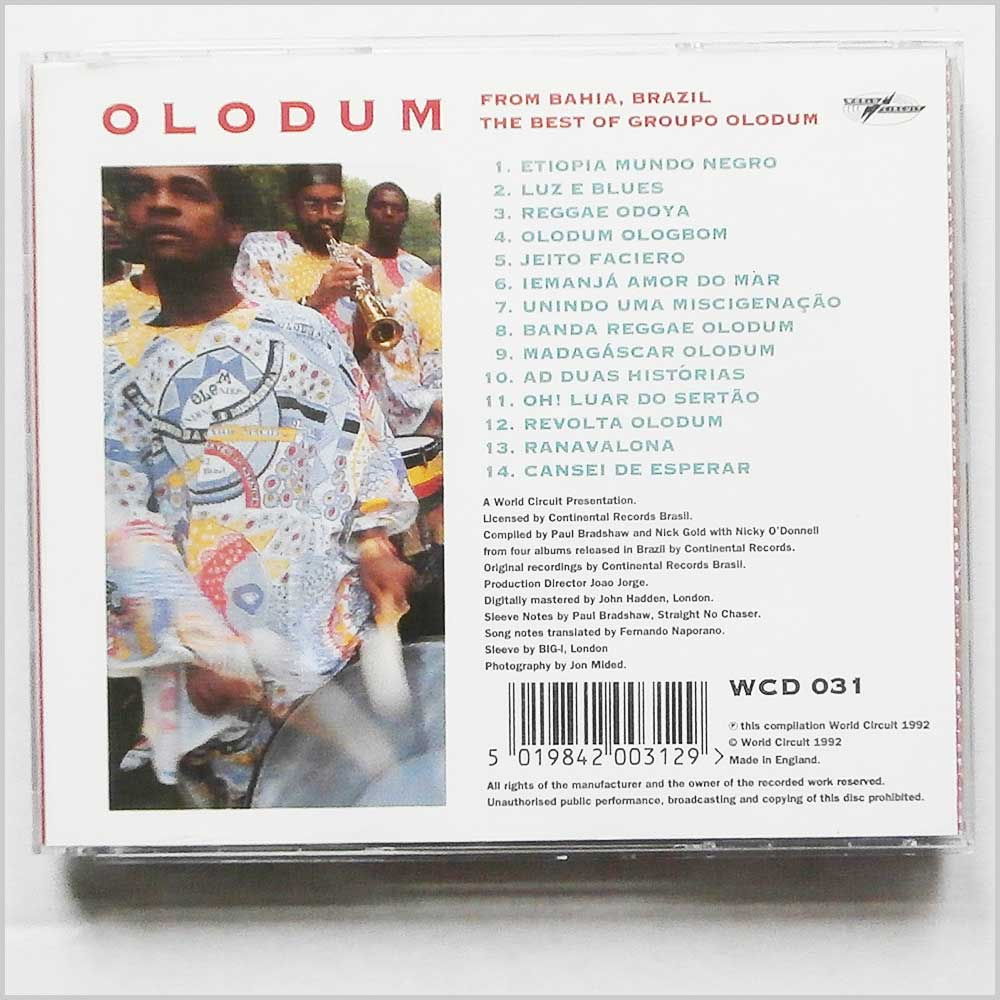 Olodum - Revolution in Motion (5019842003129)