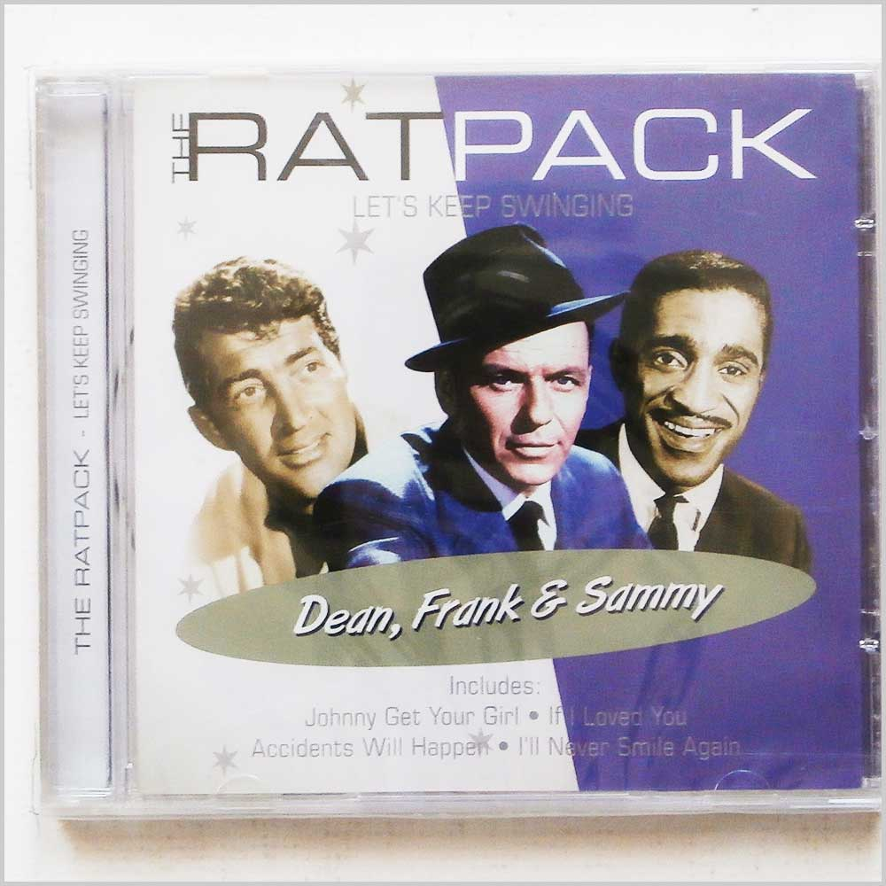 VARIOUS - The Ratpack Let's Keep Swinging Dean Frank and Sammy - CD