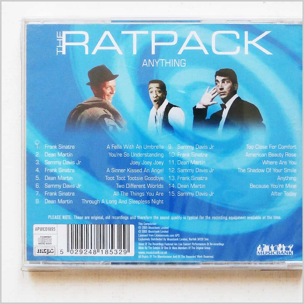 Various - The Ratpack, Anything (5029248185329)