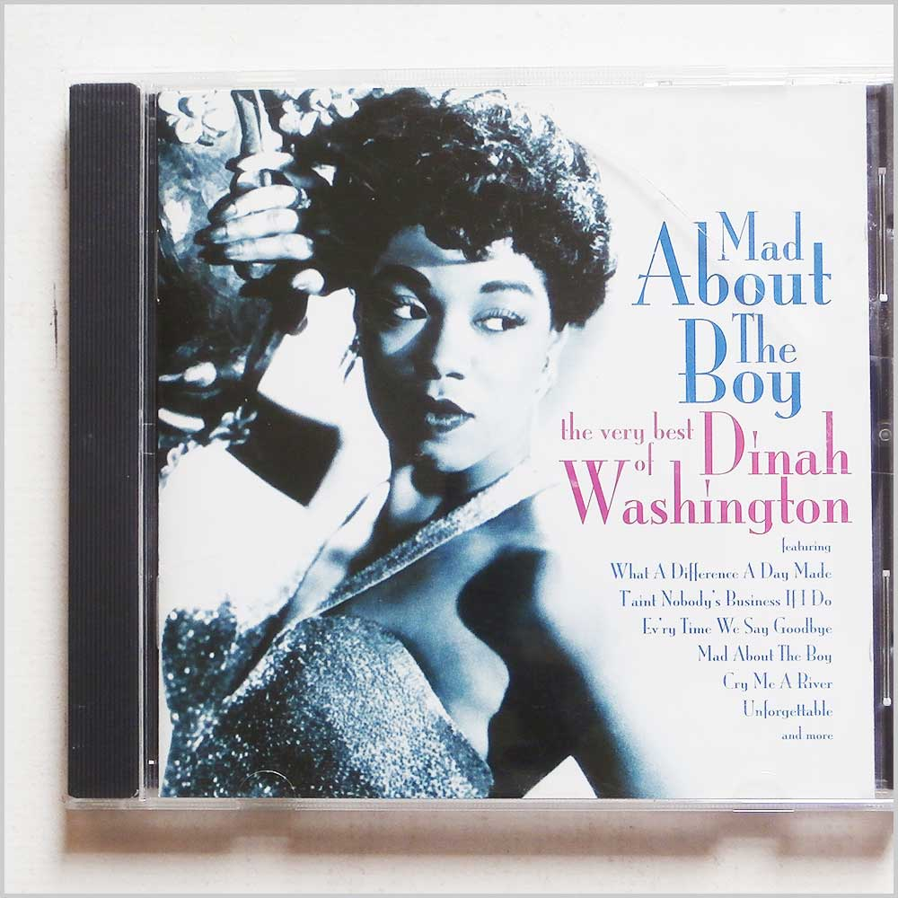 Dinah Washington  - Mad About the Boy: The Very Best of Dinah Washington  (5033093005428)