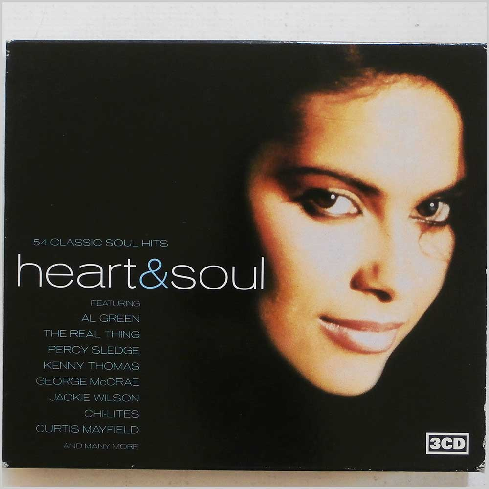 Various - Heart and Soul: 54 Classic Soul Hits (5033093300226)