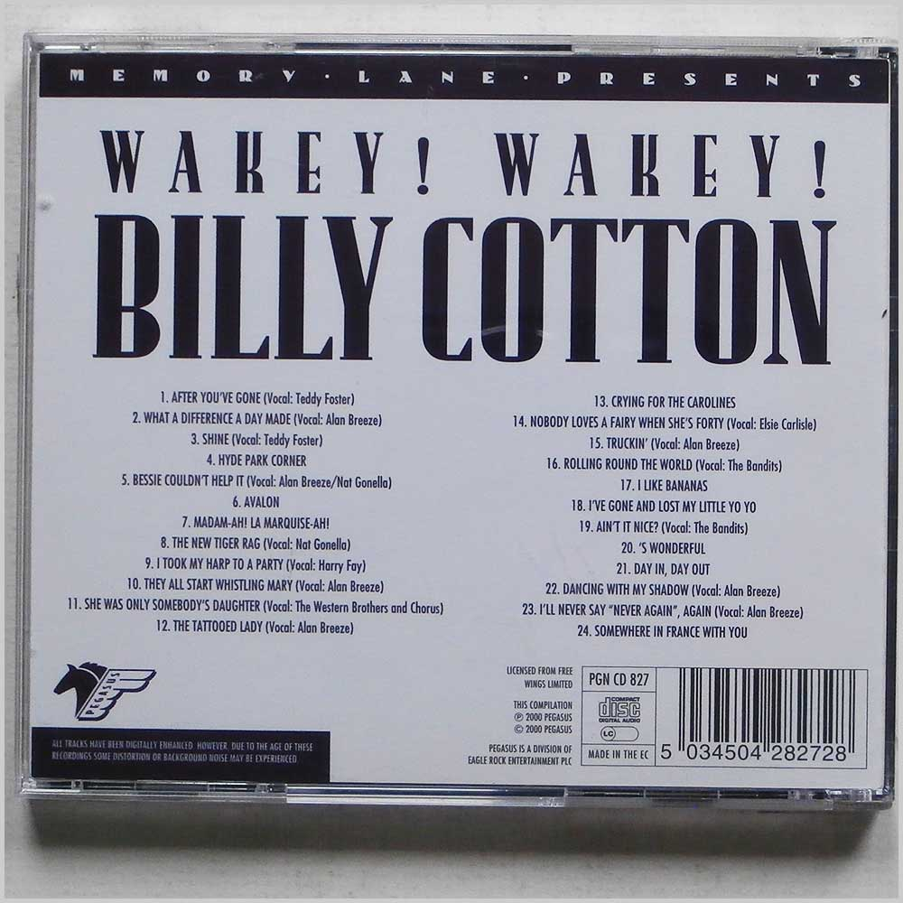 Billy Cotton - Wakey! Wakey! (5034504282728)