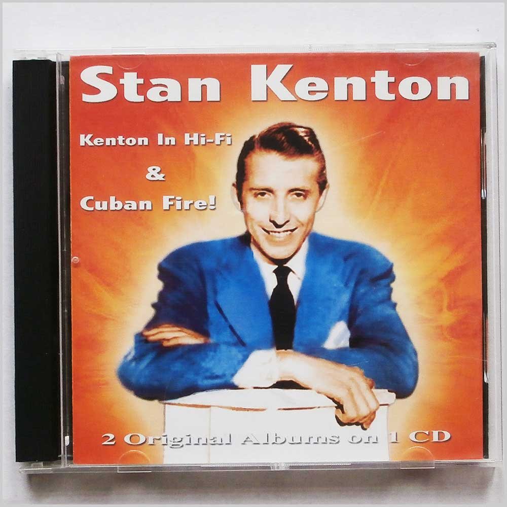 Stan Kenton - Kenton In Hi-Fi and Cuban Fire (5050457064822)