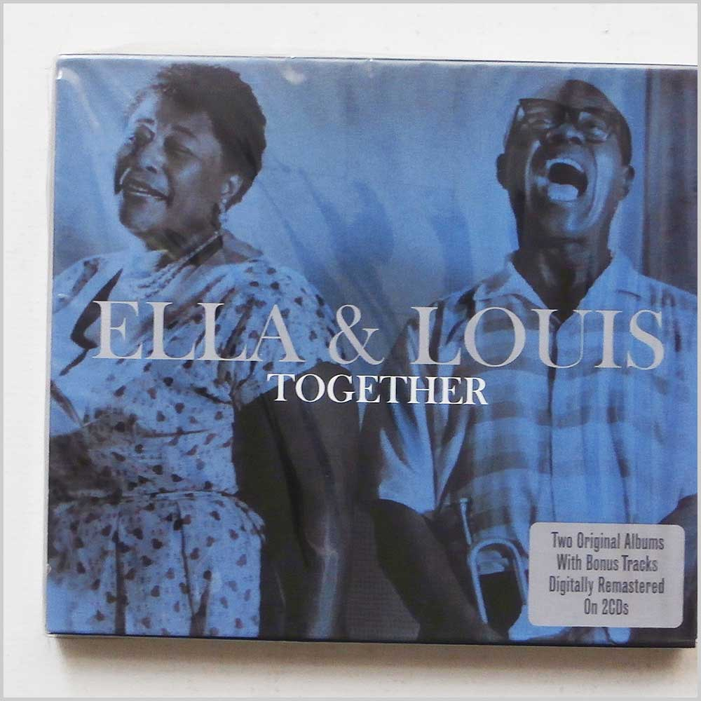 ELLA FITZGERALD AND LOUIE ARMSTRONG - Ella and Louie Together - CD