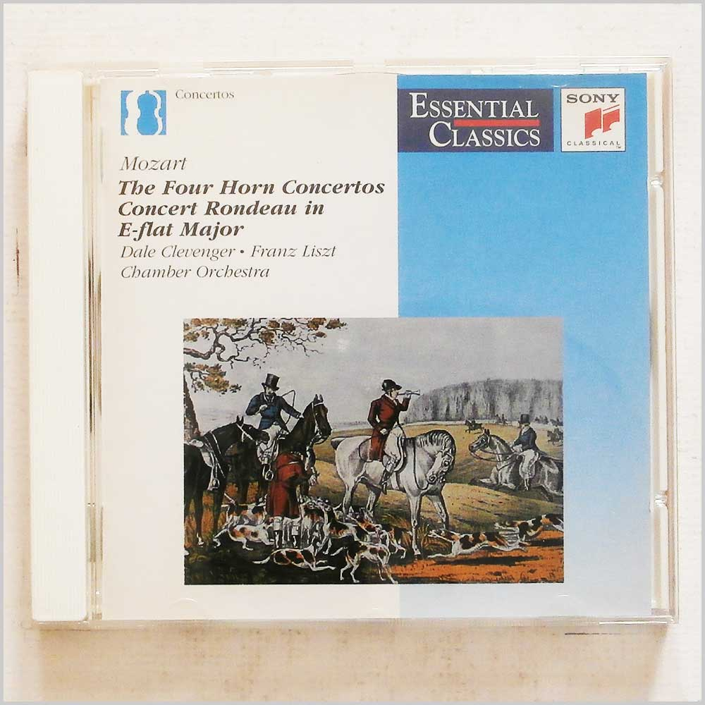 Dale Clavenger, Franz Liszt Chamber Orchestra - Mozart: The Four Horn Concertos, Concert Rondeau in E-flat Major (5099706263920)