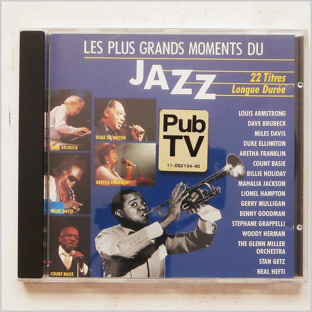 Various - Les Plus Grands Moments Du Jazz (5099746339623)