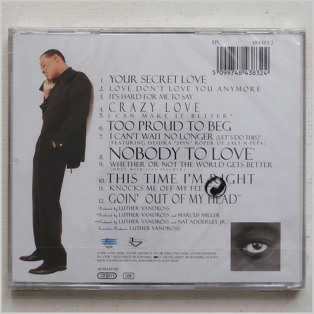 Luther Vandross - Your Secret Love (5099748438324)