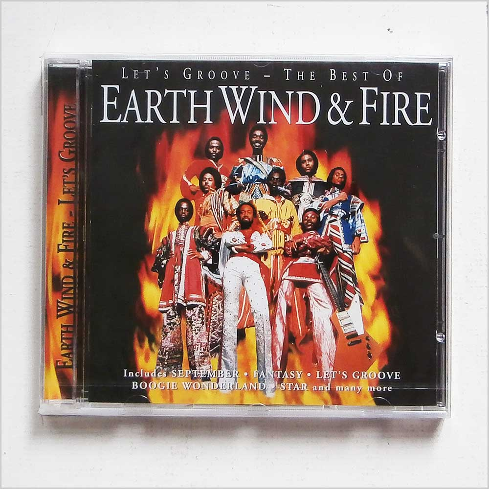 EARTH, WIND AND FIRE - Lets Groove The Best of Earth Wind and Fire - CD