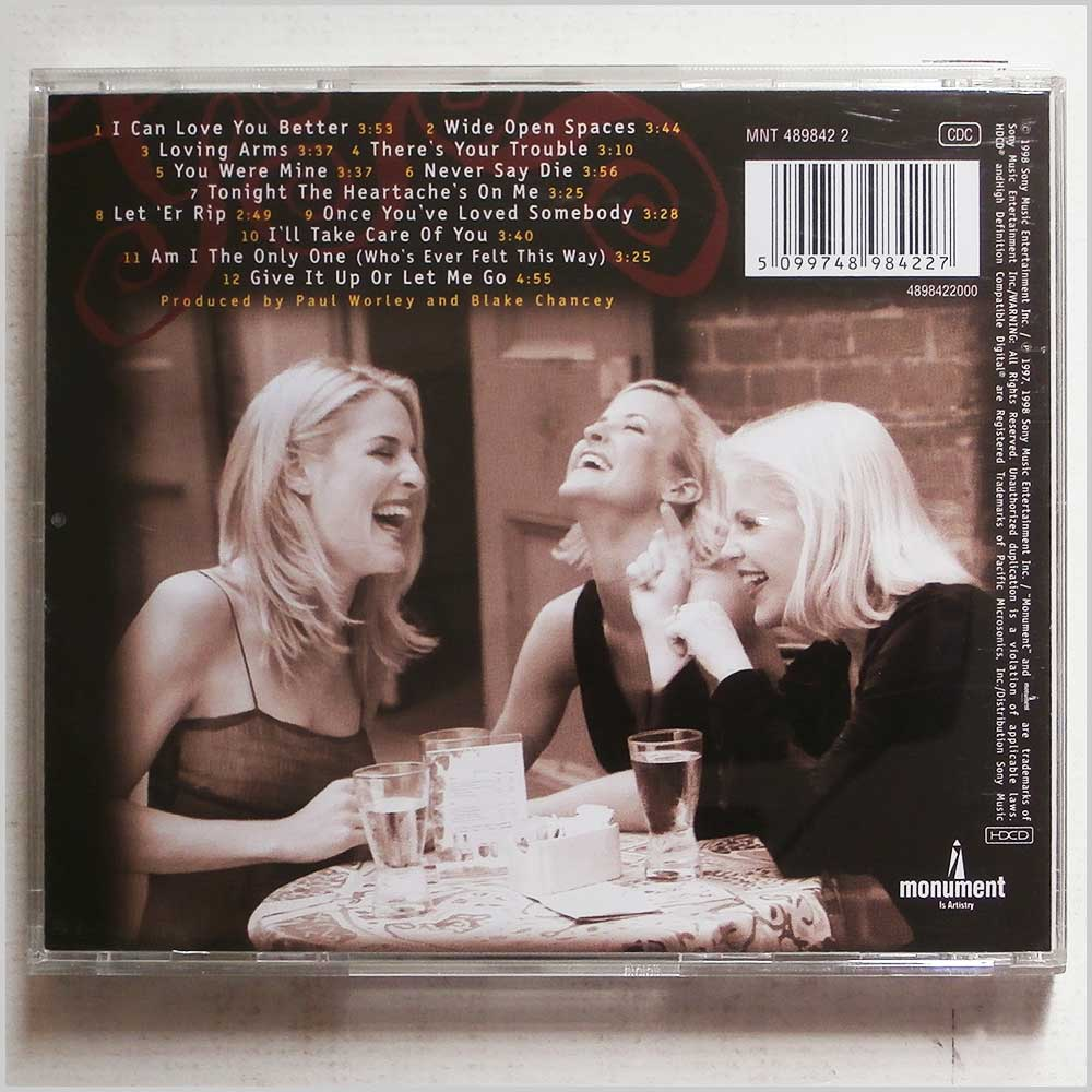 Dixie Chicks - Wide Open Spaces (5099748984227)