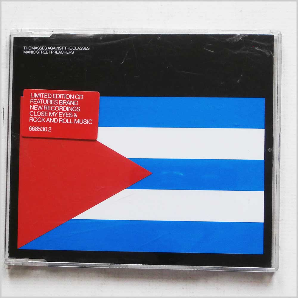 Manic Street Preachers - The Masses Against The Classes (5099766853024)